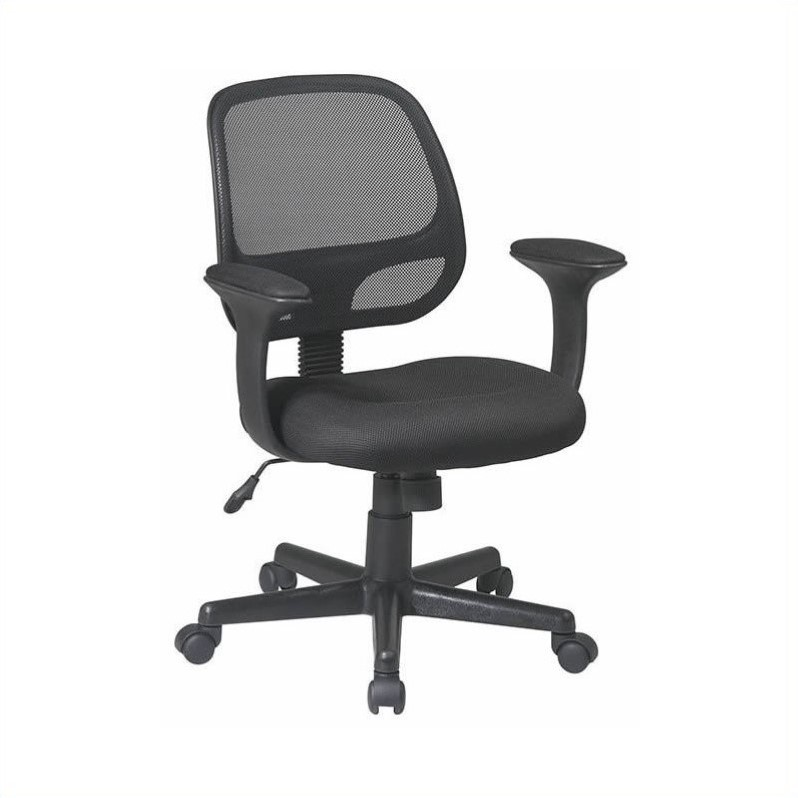 Office Star EM Series Screen Back Task Office Chair