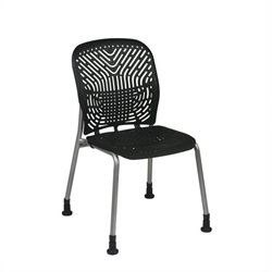 Office Star 801 Series Raven Visitors Guest Chair (Set of 2)