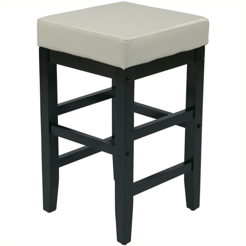 Square Bar Stools ~ Quot counter square bar stool in cream es vs cm