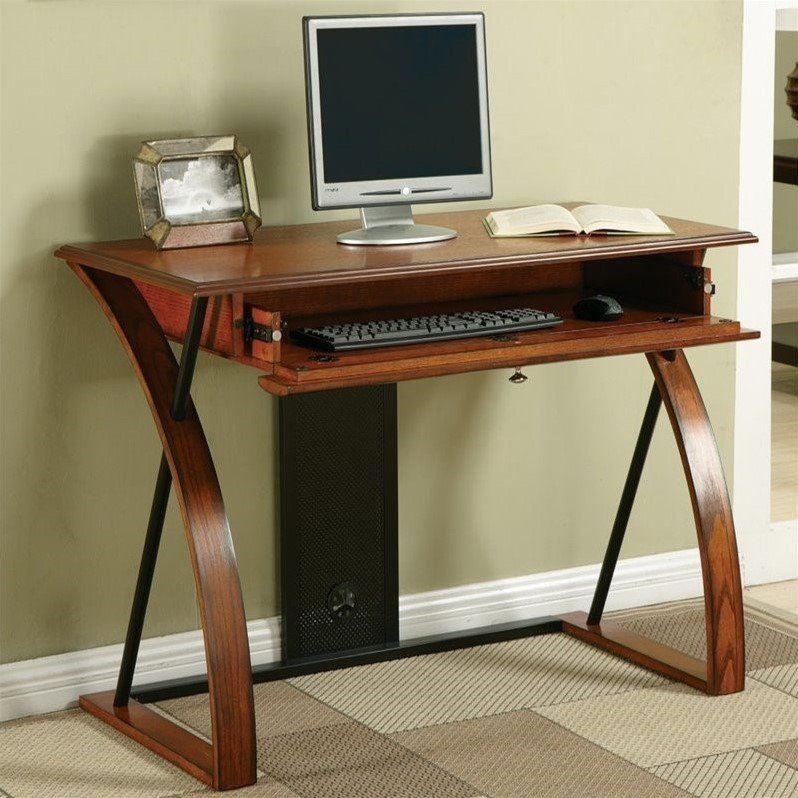 Computer Desk in Oak