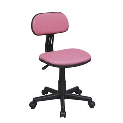 Office Star OSP Designs Seating Task Office Chair in Pink