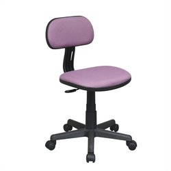 Office Star OSP Designs Seating Task Office Chair in Purple
