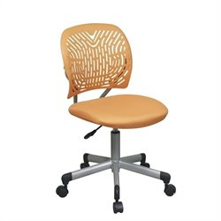Office Star OSP Designs Seating SpaceFlex Task Office Chair in Orange