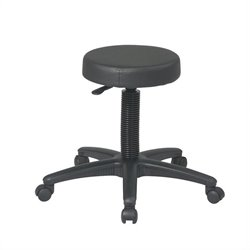 Office Star Work Smart Pneumatic Drafting Chair Backless stool