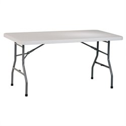 Office Star Work Smart 5 Foot Resin Multi Purpose Table