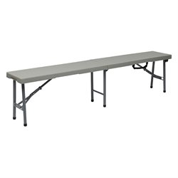 Office Star 6 foot Fold in Half Bench