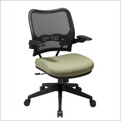 Office Star 14 Series AirGrid Back Chair with Cantilever Arms