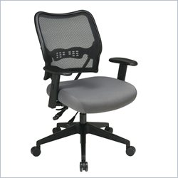 Office Star 13 Series Chair with AirGrid Back and Custom Fabric Seat