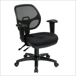 Office Star ProGrid Ergonomic Task Chair with Adjustable Arms