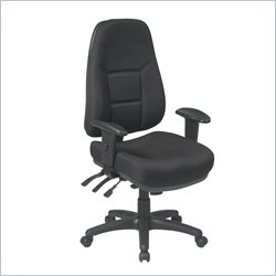 Office Star High Back Multi Function Chair with Ratchet Back Height
