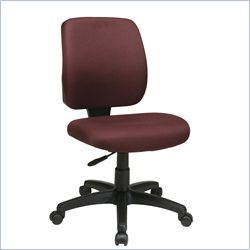 Office Star Task Chair with Ratchet Back Height Adjustment