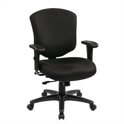 Office Star Mid Back Executive Chair with Ratchet Back