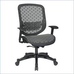 Office Star 829 Series DuraFlex Office Chair in Charcoal
