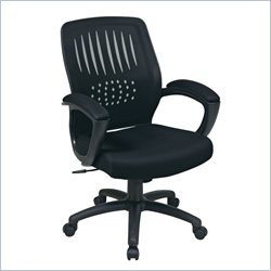 Office Star EM Screen Back Over Designer Contoured Shell Chair