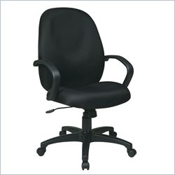 Office Star EX High Back Managers Chair with Fabric Back