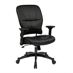 Office Star 32 Series Eco Leather Seat and Back Managers Office Chair