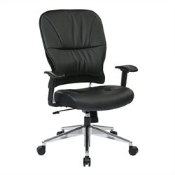 Eco Leather Managers Office Chair in Black