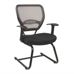 Office Star 55 Series Professional AirGrid Back Visitors Guest Chair in Latte