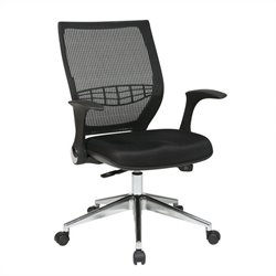 Office Star ProGrid Back Managers Office Chair in Black