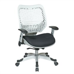 Office Star 86 REVV Series Ice SpaceFlex Office Chair in Raven