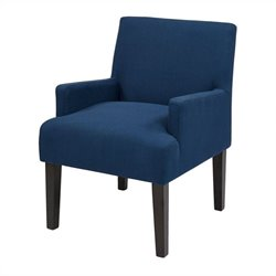 Office Star Main Street Guest Chair in Indigo