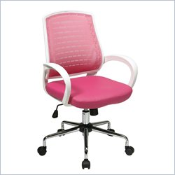 Office Star Rio Office Chair in Pink