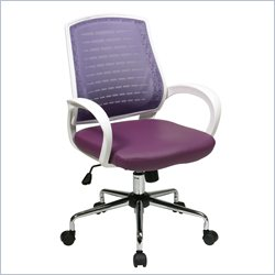 Office Star Rio Office Chair in Purple