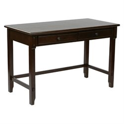 Office Star Devonshire Writing Desk in Cabernet