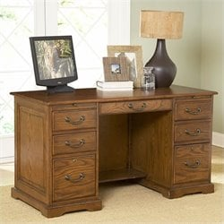 Riverside Furniture Seville Square Flat Top Desk