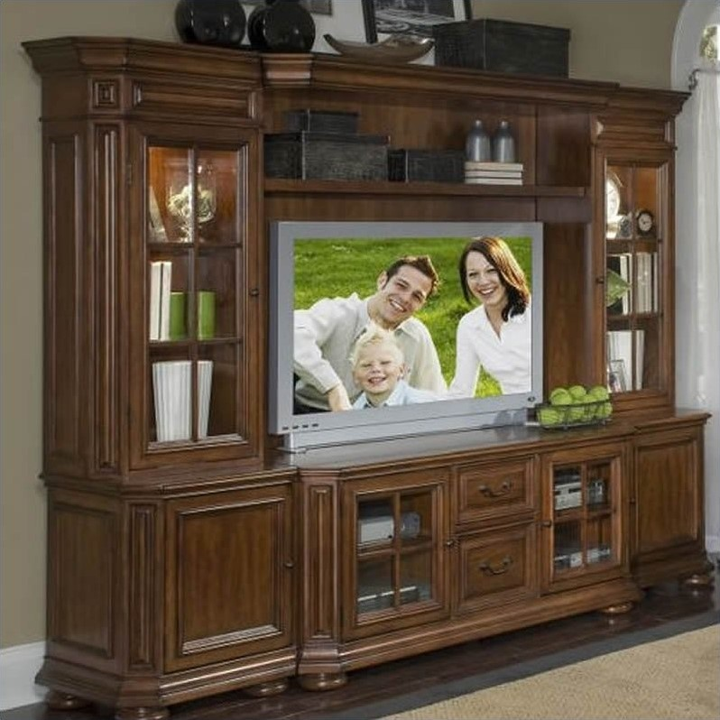 Riverside Cantata 63 Inch Tv Console Entertainment Center 494 3 4 5 6 7 8 Kit