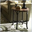 ADD TO YOUR SET: Riverside Furniture Medley Round Lamp Table in Camden / Wildwood Taupe