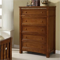 Riverside Furniture Craftsman Home 5 Drawer Chest