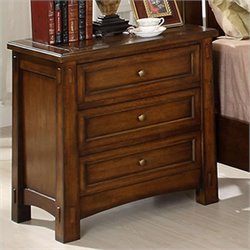 Riverside Furniture Craftsman Home 3 Drawer Nightstand