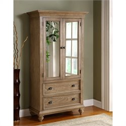 Riverside Furniture Coventry Armoire in Driftwood