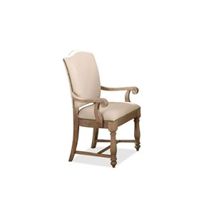 Riverside Coventry Two Tone Dining Chair in Driftwood