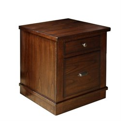 Riverside Furniture Castlewood Mobile File Cabinet in Warm Tobacco