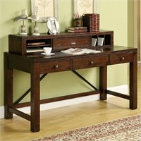 Orleans Executive Desk With Hutch And Mobile File In