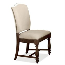 River Furniture Castle Upholstered Dining Chair in Warm Tobacco