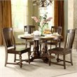 Newburgh Dining Table Top-Base in Antique Ginger