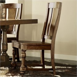 River Furniture Newburgh  Dining Chair in Antique Ginger