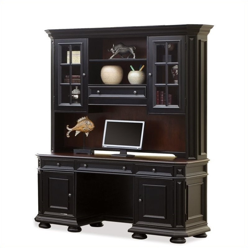 Allegro Computer Workstation in Rubbed Black