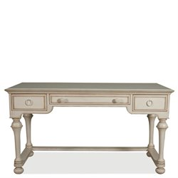 Riverside Furniture Placid Cove Writing Desk in Honeysuckle White