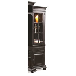 Riverside Furniture Beacon Point Right Pier in Pepper Black