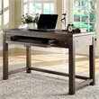 ADD TO YOUR SET: Riverside Furniture Promenade Writing Desk in Warm Cocoa