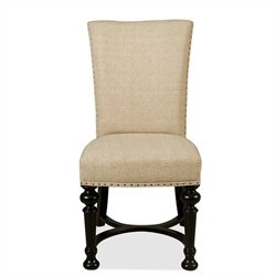 River Furniture Williamsport Dining Chair in Kettle Black