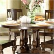 Riverside Newburgh 5 Piece Round Dining Set in Antique Ginger