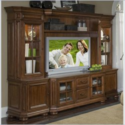 Riverside Cantata Entertainment Center in Burnished Cherry