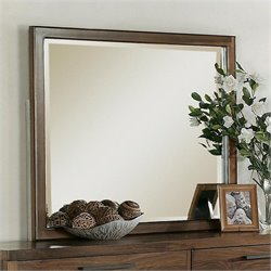 Riverside Furniture Terra Vista Mirror in Casual Walnut