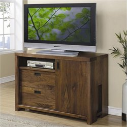 Riverside Furniture Terra Vista Entertainment Chest in Casual Walnut