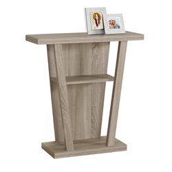 Console Table in Dark Taupe
